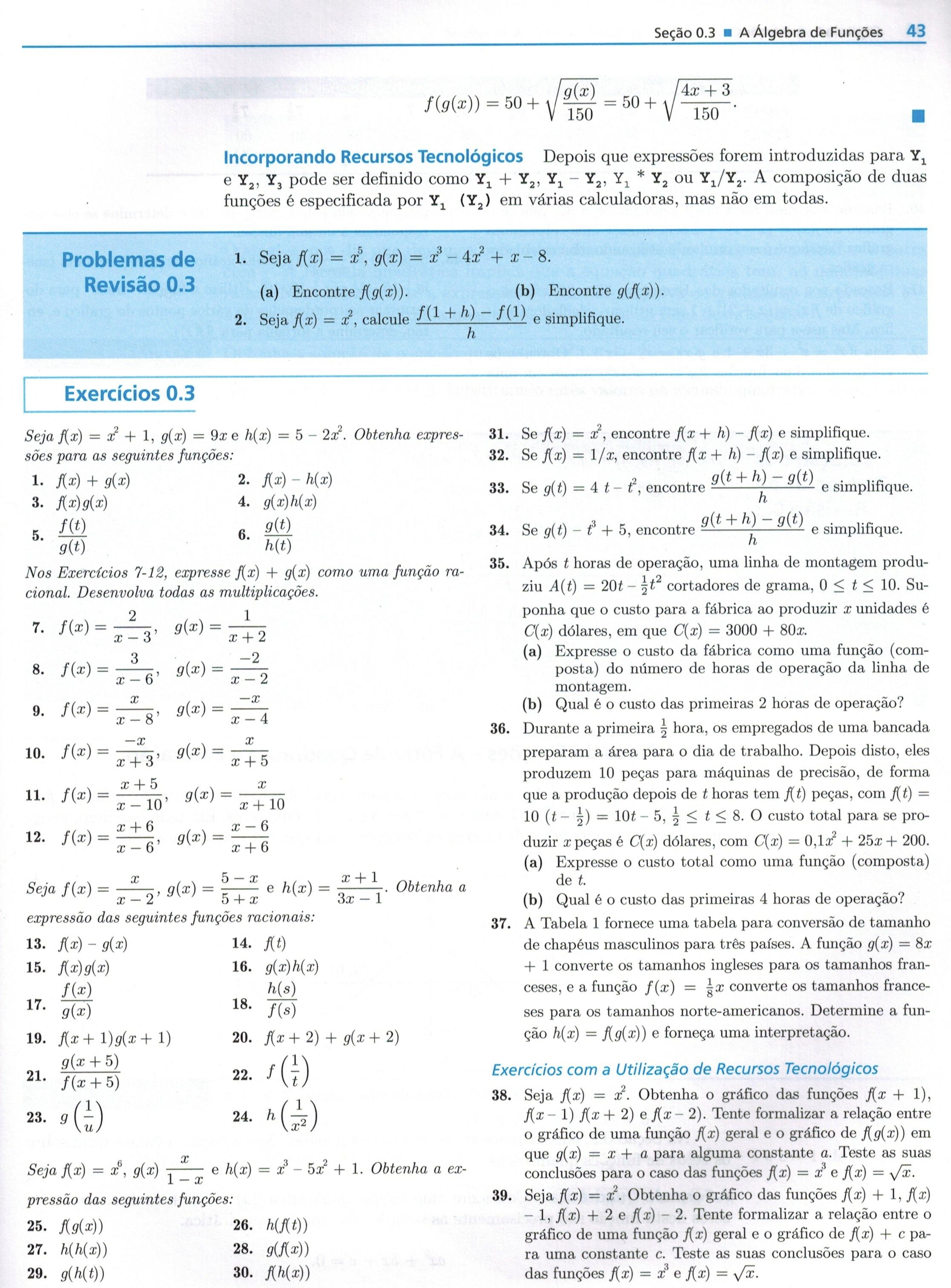 0.3. A álgebra de funções
